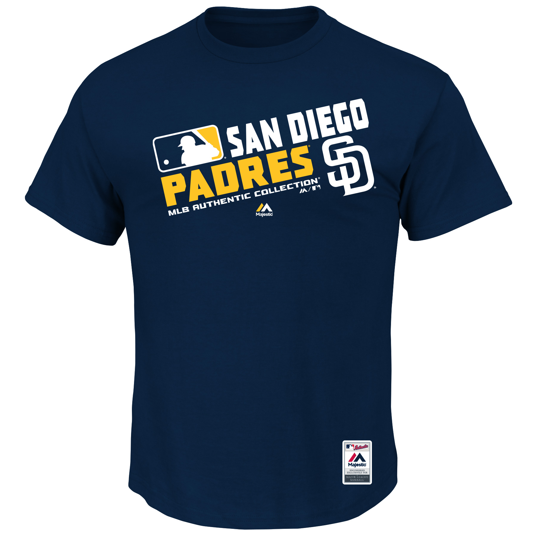 San Diego Padres Majestic Team Choice T-Shirt - Navy
