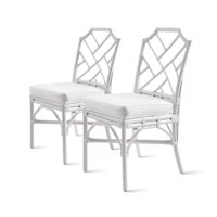Kara Rattan Chair,Set of 2