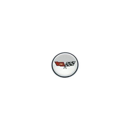- Eckler's Premier  Products 25-120607 Corvette Wheel Center Cap Emblem,