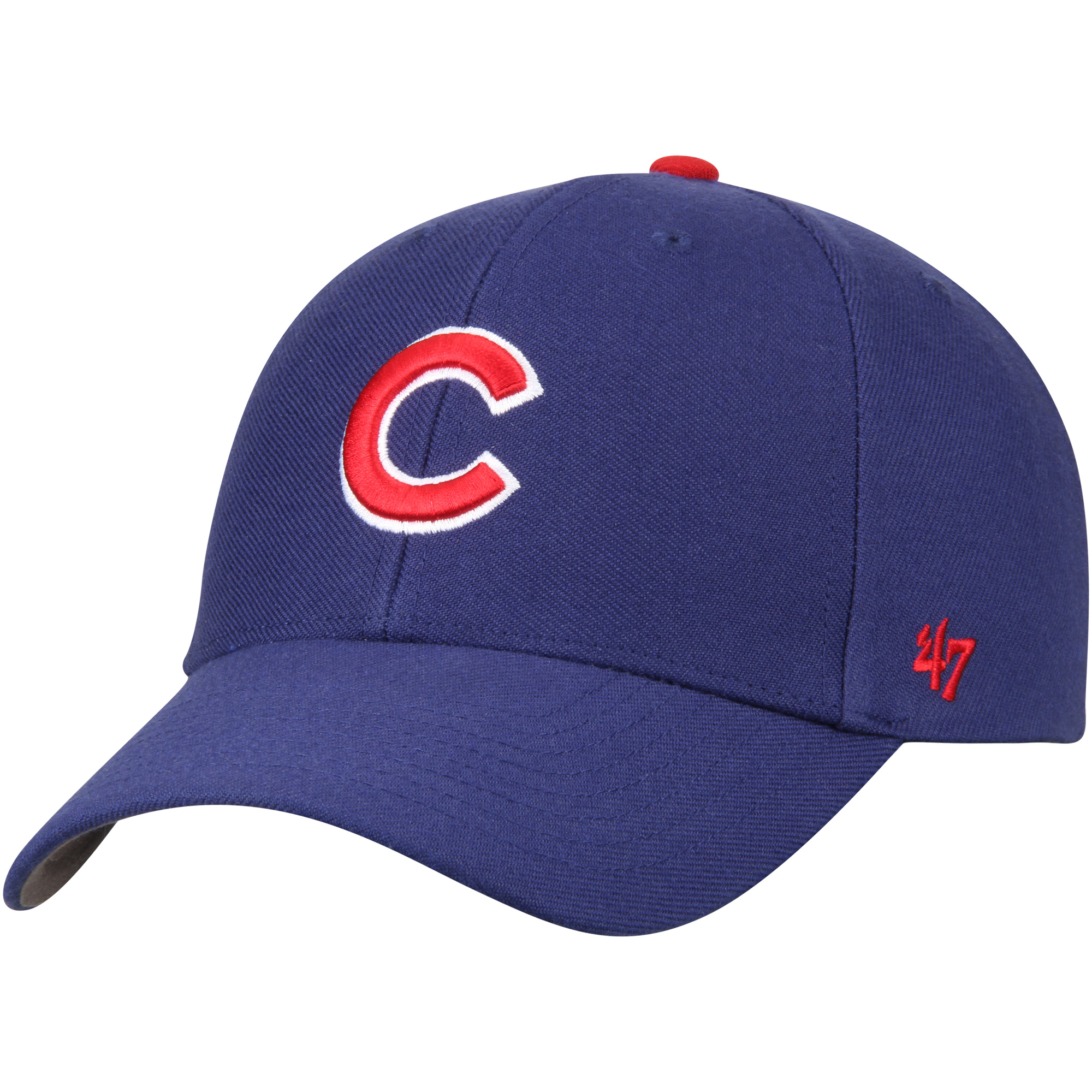 Chicago Cubs '47 MVP Wool Adjustable Hat - Royal - OSFA