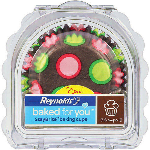 Reynolds baked for you StayBrite Baking Cups, 36 count