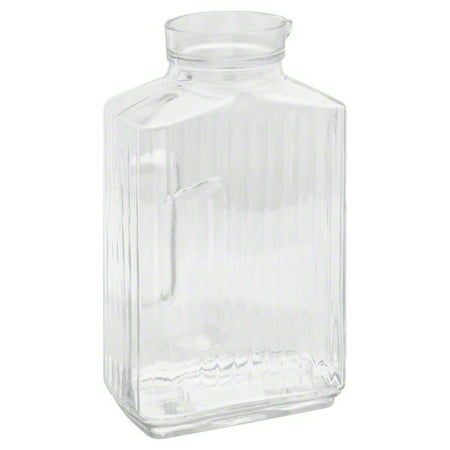 Anchor Hocking 64 Oz. Bistro Clear Glass Pitcher with Stopper