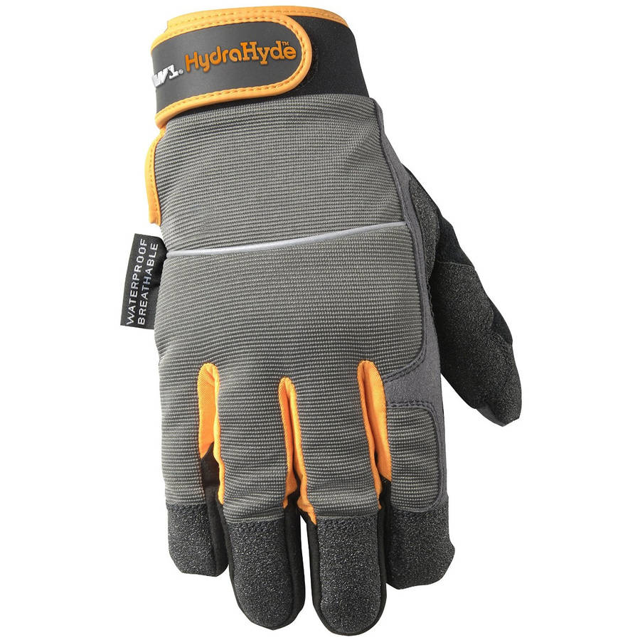 Wells Lamont HydraHyde Waterproof Synthetic Leather Glove, XL