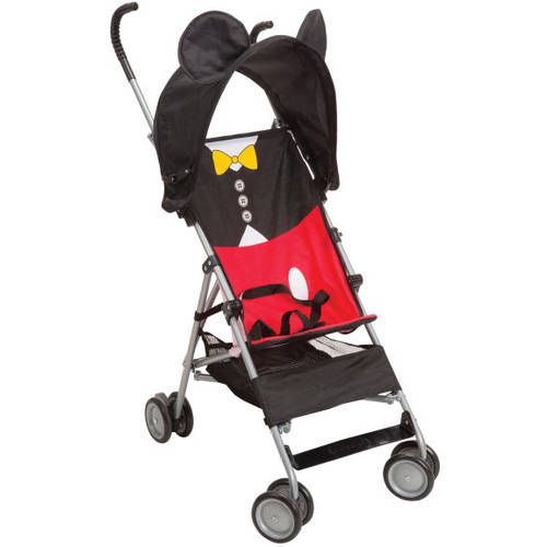 Disney 3D Umbrella Stroller with Basket, Choose Your Character by Disney