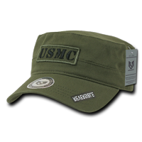 USMC Marines Official Cadet Reversible Caps Hats Olive