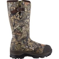 Field & Stream Men's Swamptracker Realtree Xtra Waterproof 1000g Rubber Hunting Boots, Mossy Oak Brk Up Country, 130