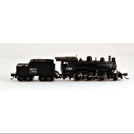 Bachmann Industries ALCO 2-6-0 Boston and Maine 1363 Steam Locomotive Car