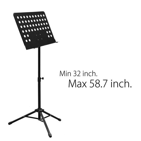 Maestro Extra Durable Metal Music Note Stand Orchestra Heavy Duty Tripod  , WMLS2375