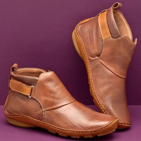 Women's pointed casual women's leather boots - image 1 of 3
