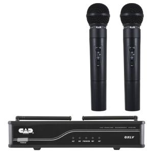 CAD Audio GXLVHH-H VHF Dual Cardioid Dynamic Hand-Held Wireless Microphone System H... by CD-CAD MICROPHONES
