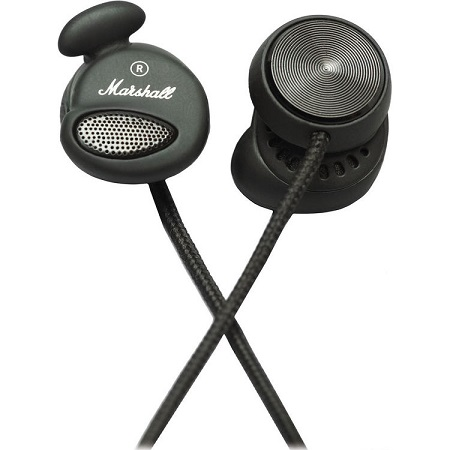 Marshall Minor In-ear Headphones Pitch Black