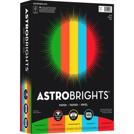 Astrobrights, WAU22226, Color Paper -