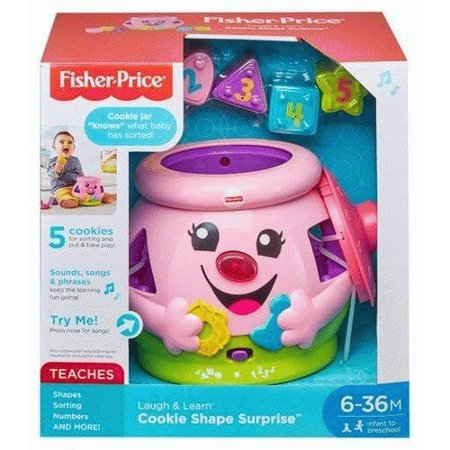 Fisher-Price Laugh & Learn Cookie Shape Surprise (Fisher Price Cookie)