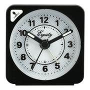 Equity by La Crosse 20078 Quartz Travel Alarm Clock