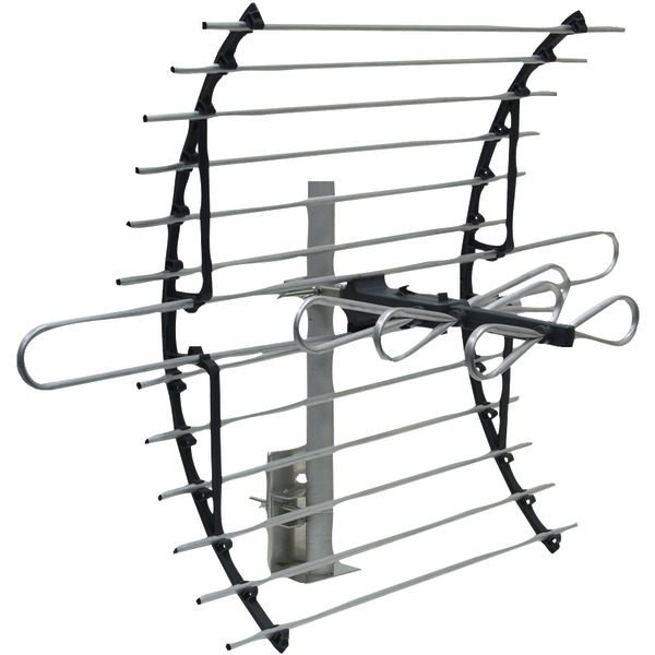 GE 24792 Compact Attic-Mount Antenna with Mount