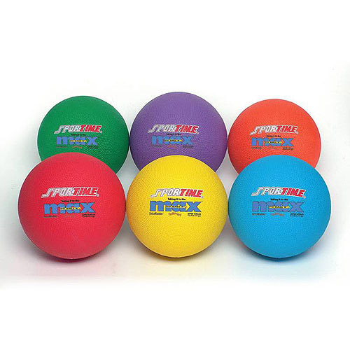 SportimeMax 8-1/2 in Playground Ball, Red