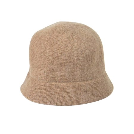 August Accessories Women's Solid My Melton Cloche Hat](Camel Hat)