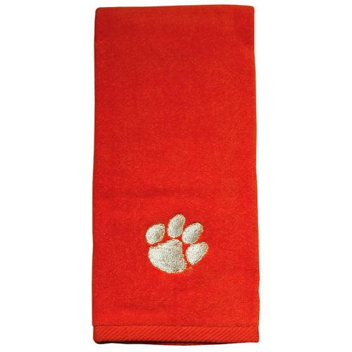 NCAA - Clemson Tigers Embroidered Orange Sports Towel