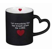 Mug-Precious Pet w/Heart Handle-I Love My Pet-Psalm 150:6 (11 Oz)