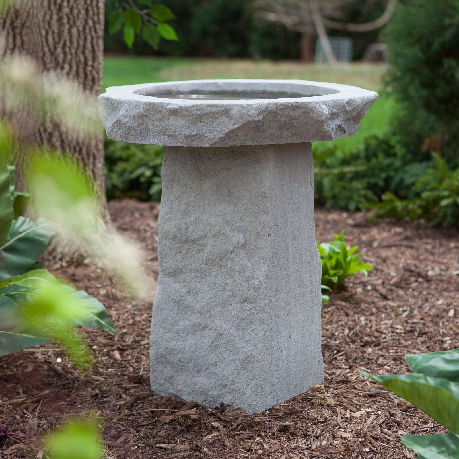 Kay Berry Cast Stone Birdbath by Design Toscano