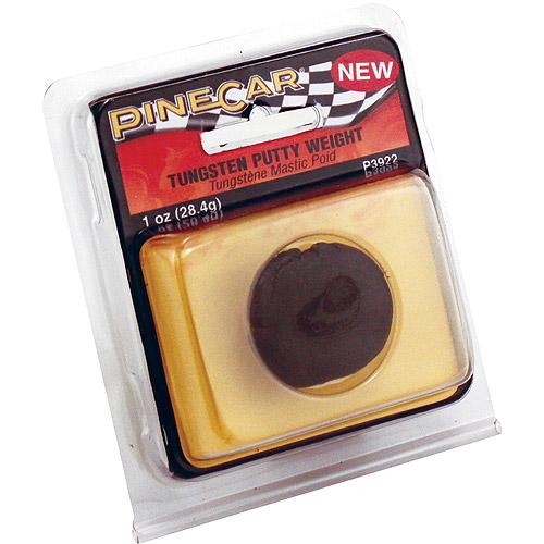 Pine Car Weights 1 oz, Tungsten Putty