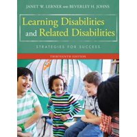 Learning Disabilities and Related Disabilities: Strategies for Success (Hardcover)
