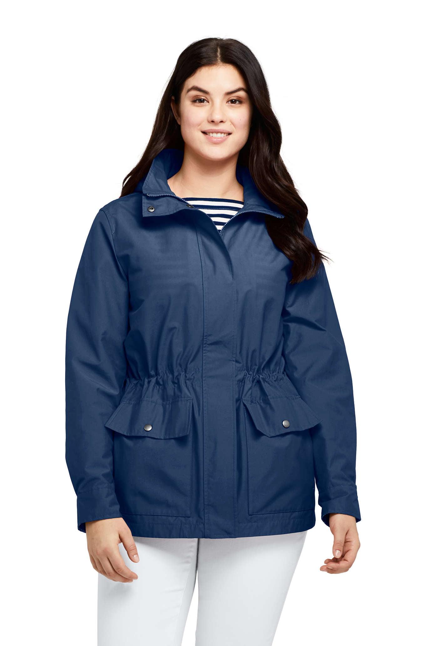 Women's Plus Cotton Lightweight Jacket