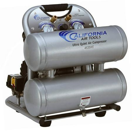 - CALIFORNIA AIR TOOLS Portable Air Compressor,2 HP,4.6 gal. 4620AC