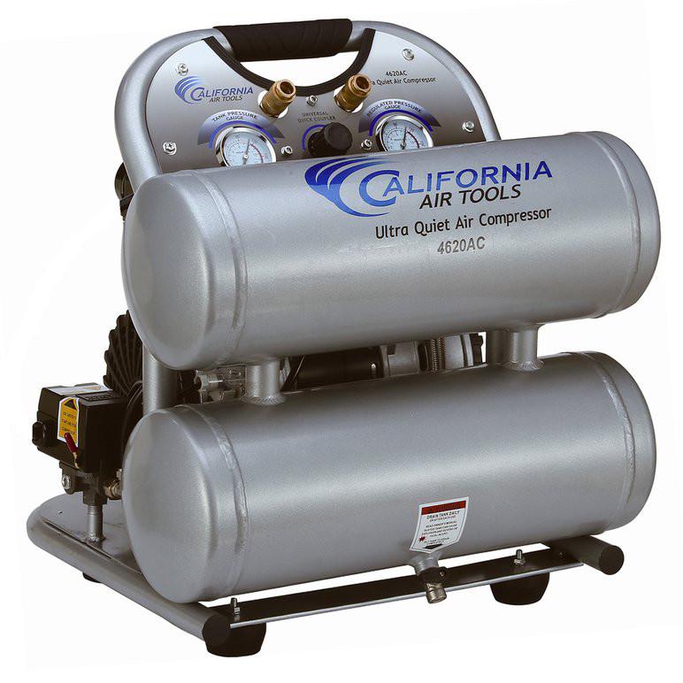 CALIFORNIA AIR TOOLS Portable Air Compressor,2 HP,4.6 gal. 4620AC