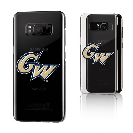 GW George Washington Colonials Insignia Clear Case for Galaxy S8