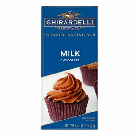 Ghirardelli Milk Chocolate Baking Bar, 4 oz Milk Chocolate Chip Recipes