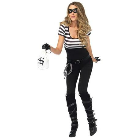 Morris Costume UA85530LG Bank Robbin Bandit Costume, Large](Bank Robber Costume Ideas)