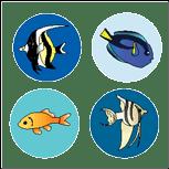 Incentive Stickers - Aquarium (Pack of 1728)