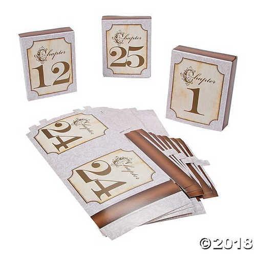 Fairy Tale Wedding Table Numbers