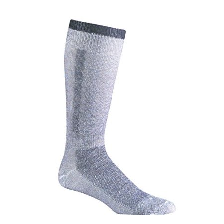 Snow Pack Over-The-Calf Merino Wool Socks (2 Pack), Large, Black, MADE TO LAST: Smooth, flat toe seam doesn't rub or irritate during wear; smooth,.., By Fox River Fox River Athletic Toe Socks