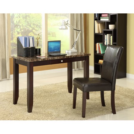 Wildon Home Elegant Writing Desk and Chair Set