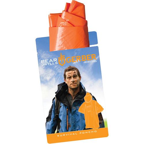 Gerber Bear Grylls Survival Poncho with Reusable Bag