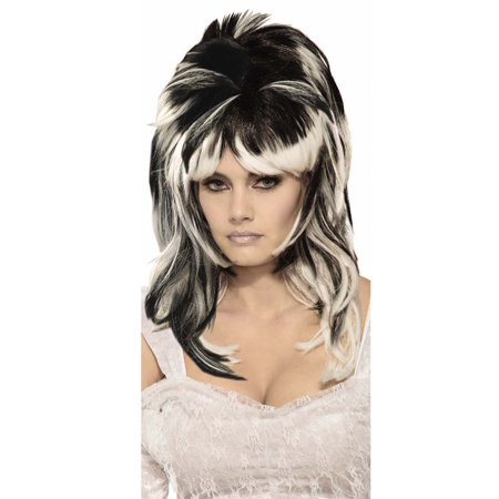 Haunted Bride Womens Adult Vampire Witch Costume Wavy Wig