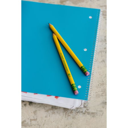 My First Ticonderoga Pencil, Wood-Cased Large Pencils with Bonus Sharpener, 4 Count