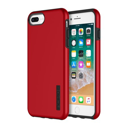 save off 60f38 37c87 Incipio DualPro Case for iPhone 8 Plus, iPhone 7 Plus, iPhone 6s Plus &  iPhone 6 Plus - Iridescent Red / Black