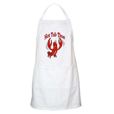 5 Tub Apron - CafePress - Crawfish Hot Tub BBQ Apron - Kitchen Apron with Pockets, Grilling Apron, Baking Apron