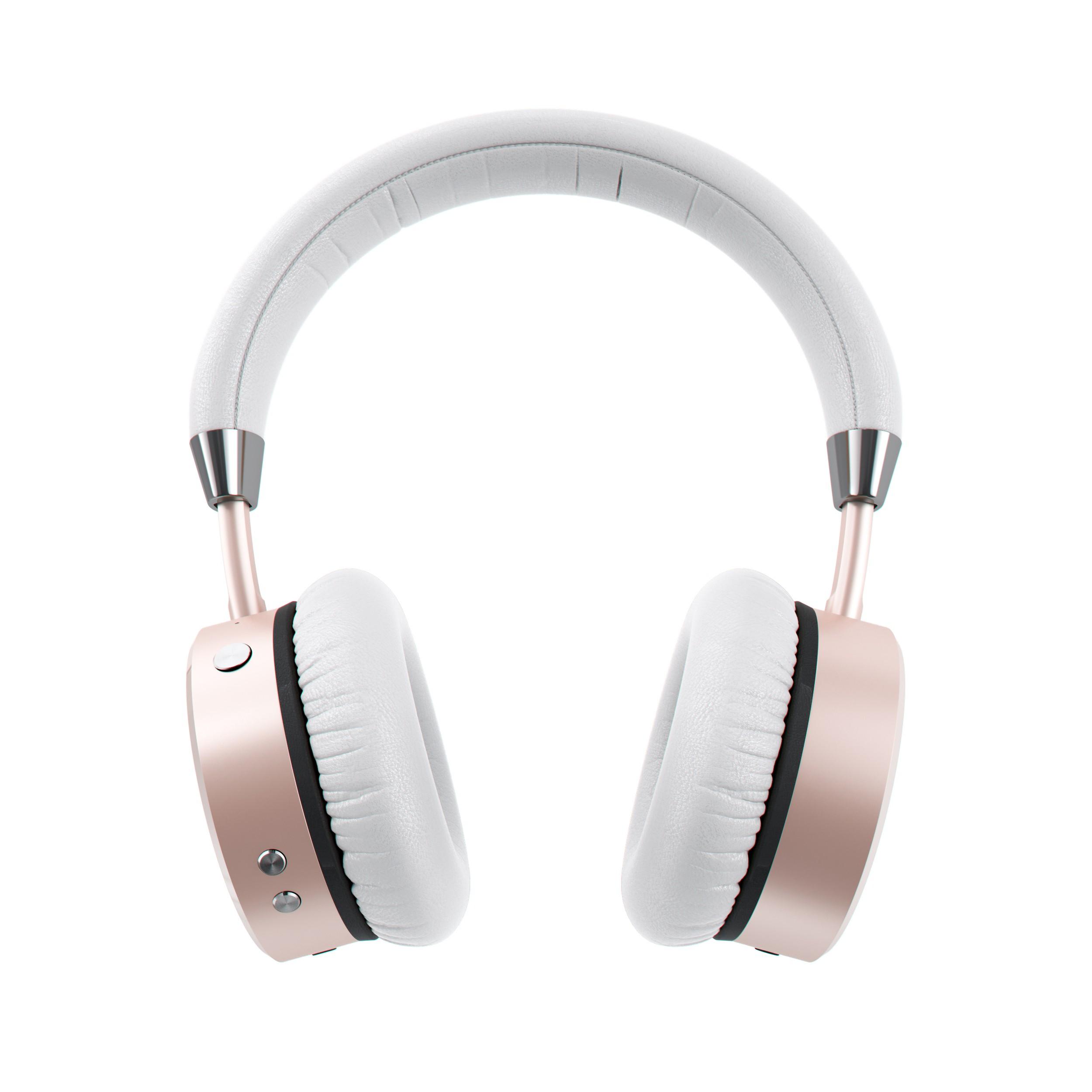 Satechi Aluminum Wireless Headphones (Rose Gold)