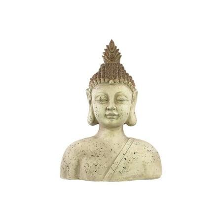 Fiberstone Buddha Bust Large