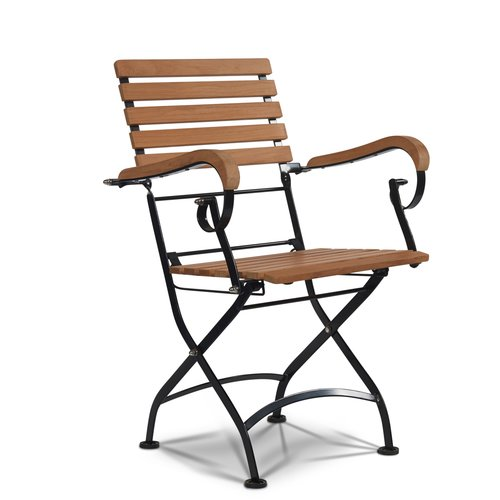 HiTeak Furniture Bistro Teak Patio Dining Chair (Set of 2)