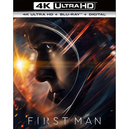 First Man (4K Ultra HD + Blu-ray + Digital - First Map