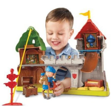 Fisher Price Mike The Knight Glendragon Castle Play Set