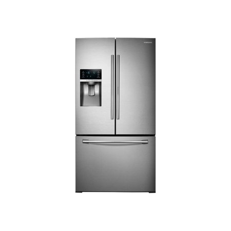 Samsung RF28HDEDBSR - Refrigerator/freezer - french style with ice & water dispenser - freestanding - width: 35.7 in - depth: 36 in - height: 70 in - 27.8 cu. ft - stainless steel