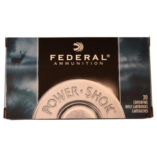 Federal Ammunition Power Shok 243 Win 100gr Soft Point