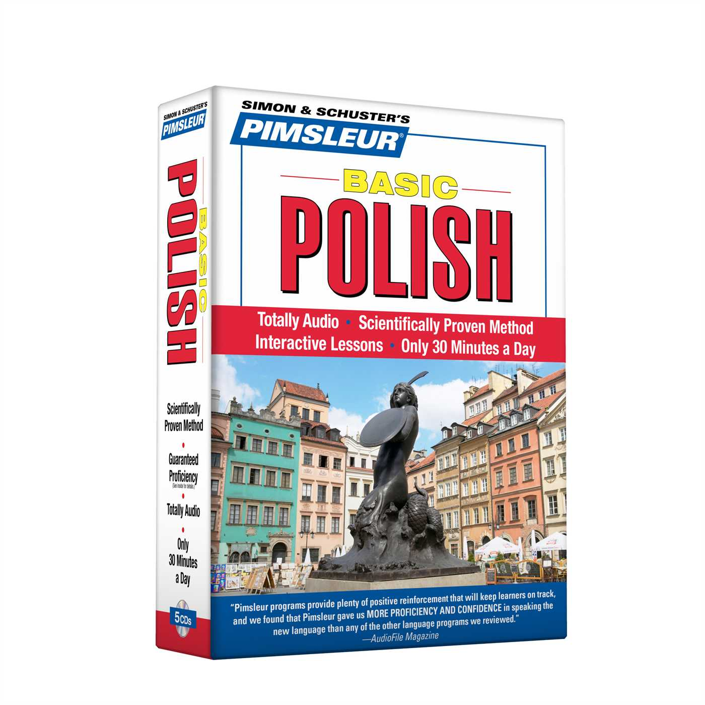Pimsleur Polish Basic Course - Level 1 Lessons 1-10 CD : Learn to Speak and Understand Polish with Pimsleur Language Programs