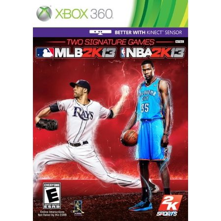 Brand New - Two Signature Games NBA 2K13 / MLB 2K13 Combo Pack - Xbox 360